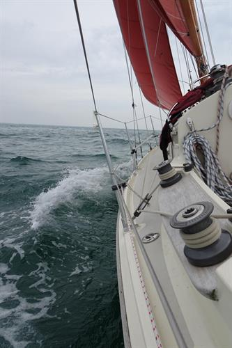 C26 Summer Breeze heading East to Bembridge