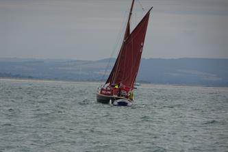 Chichester bound from Bembridge