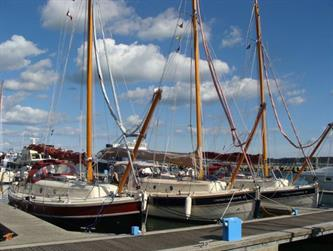 Crabber Rally 2015 - A trio of C26s in Poole