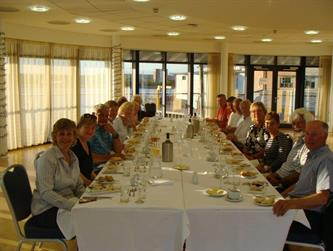 Crabber Rally 2015 - final dinner at RNLI College in Poole 2