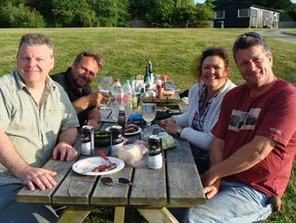 Crabber Rally 2015 BBQing at Bucklers Hard 2