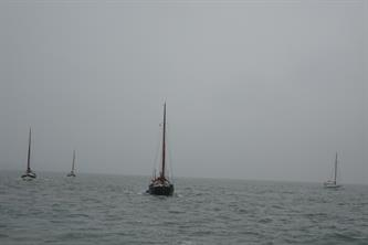 Sailing in company in the fog